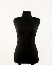 Манекен брючный портновский черный модель Любовь, 40 размер