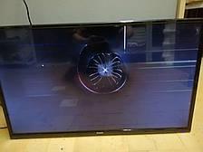 Телевизор Bravis LED-32E2000 + T2 #8038 на запчасти