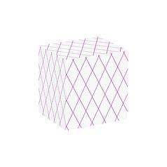 Папір пакувальна PPW PAPER Lesko PZ095 Diamond 2 подарункова 50*70 см