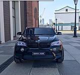 Детский электромобиль BMW X6M черный, фото 2