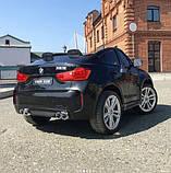 Детский электромобиль BMW X6M черный, фото 3
