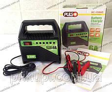 Зарядний пристрій для автомобільних акумуляторів Pulso BC-15860 6-12В | 6A | 15-80Ач | світлодіод, фото 2