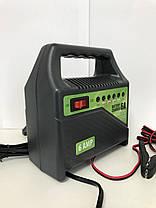 Зарядное устройство для автомобильных аккумуляторов Pulso BC-15860 6-12В   6A   15-80Ач   светодиод, фото 3
