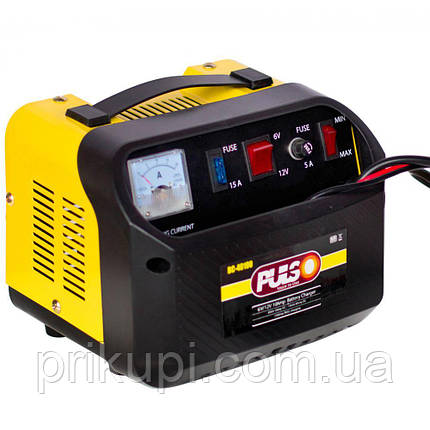 Зарядний пристрій Pulso BC-40100 для автомобільного акумулятора   6-12V 10A/12-200AH   стріл.индик., фото 2