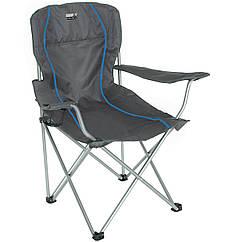 Кемпінговий стілець High Peak Salou Dark Grey/Blue (44108)