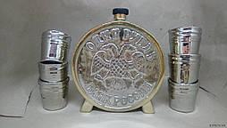 ШТОФ Подарочный набор Рубль с рюмками