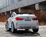 Детский электромобиль BMW X6M черный, фото 7