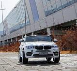 Детский электромобиль BMW X6M черный, фото 8