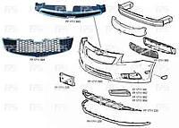 Накладка бампера переднего под номерной знак USA Шевролет Круз 12-/Chevrolet Cruze 12-
