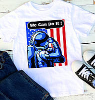 Мужская футболка We can do it 2, фото 1