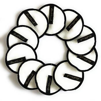 Многоразовые ватные эко диски для снятия макияжа из натурального бамбука эко 100% органические от BlackTouch