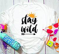 Женская футболка Stay Wild, фото 1