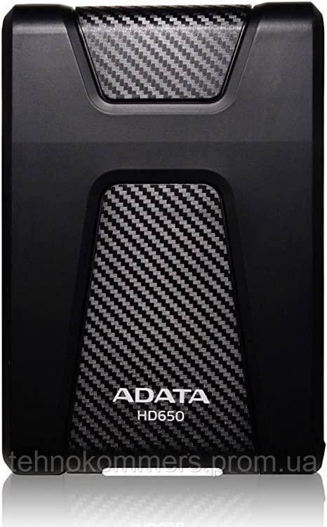 Жорстку зовнішній диск A-DATA USB 3.1 Gen1 HD650 1TB 2,5 Чорний