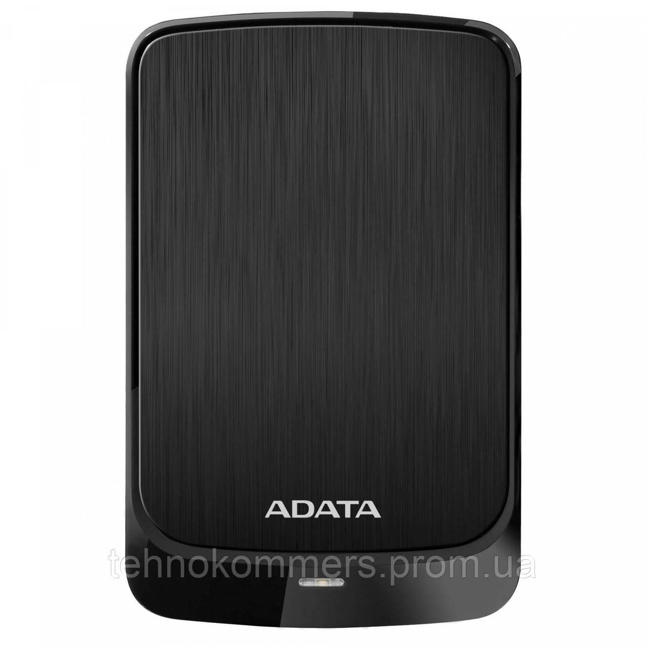 """Жорсткий диск зовнішній A-DATA USB 3.2 Gen1 HV620S 1TB 2,5"""" Чорний"""