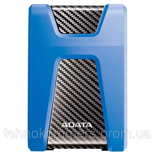 """Жорсткий диск зовнішній A-DATA USB 3.2 Gen1 HD650 1TB 2,5"""" Синій"""