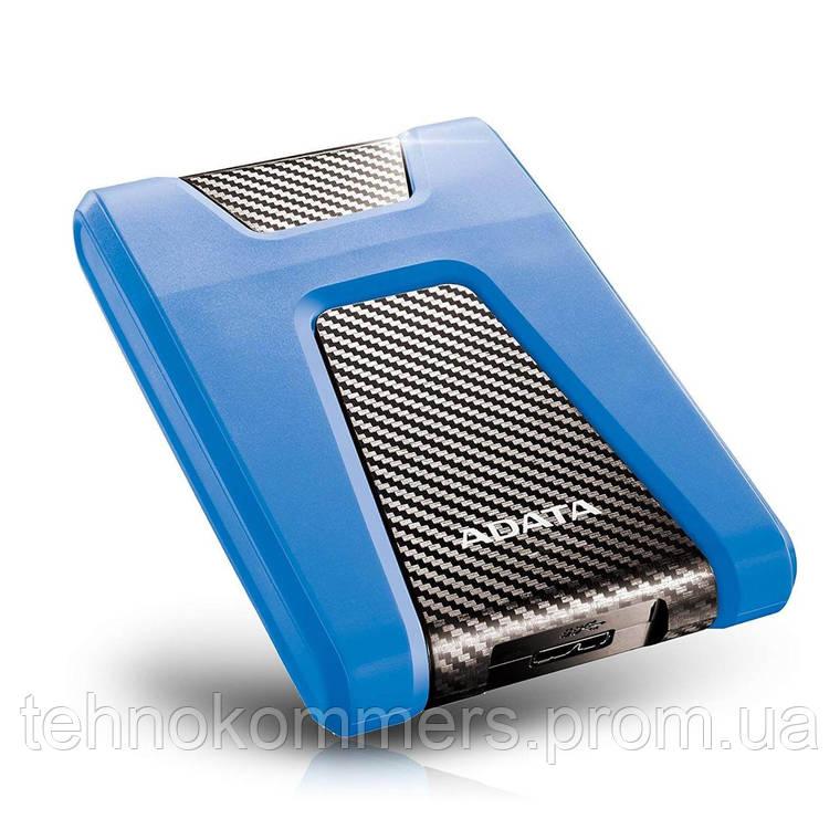 """Жорсткий диск зовнішній A-DATA USB 3.2 Gen1 HD650 1TB 2,5"""" Синій, фото 2"""