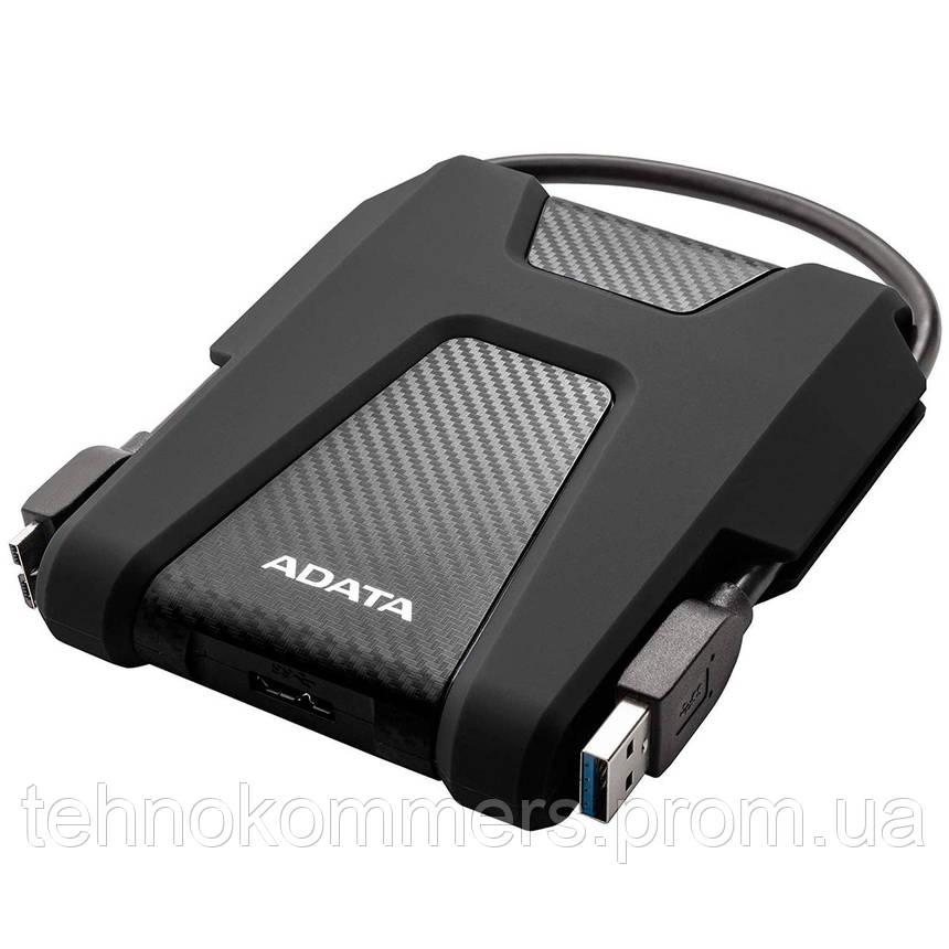"""Жорсткий диск зовнішній A-DATA USB 3.2 Gen1 HD680 2TB 2,5"""" Чорний, фото 2"""
