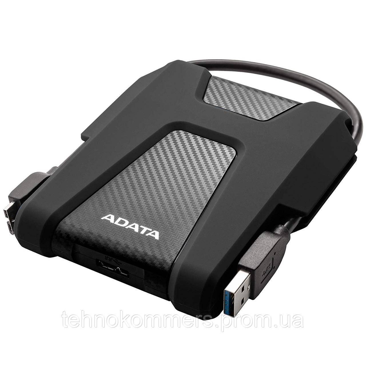 """Жорсткий диск зовнішній A-DATA USB 3.2 Gen1 HD680 2TB 2,5"""" Чорний"""