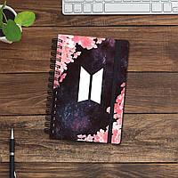Скетчбук (блокнот) - BTS 2