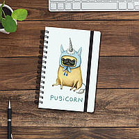 Скетчбук (блокнот) - Pugicorn