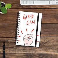 Скетчбук (блокнот) - Girls can