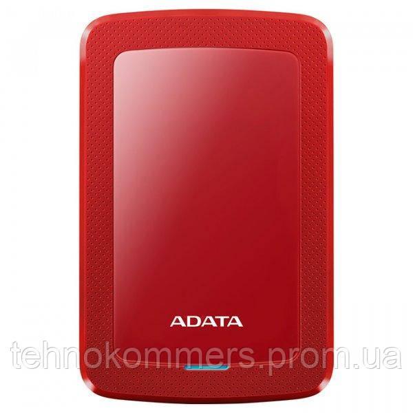 """Жорсткий диск зовнішній A-DATA USB 3.2 Gen1 HV300 1TB 2,5"""" Червоний"""