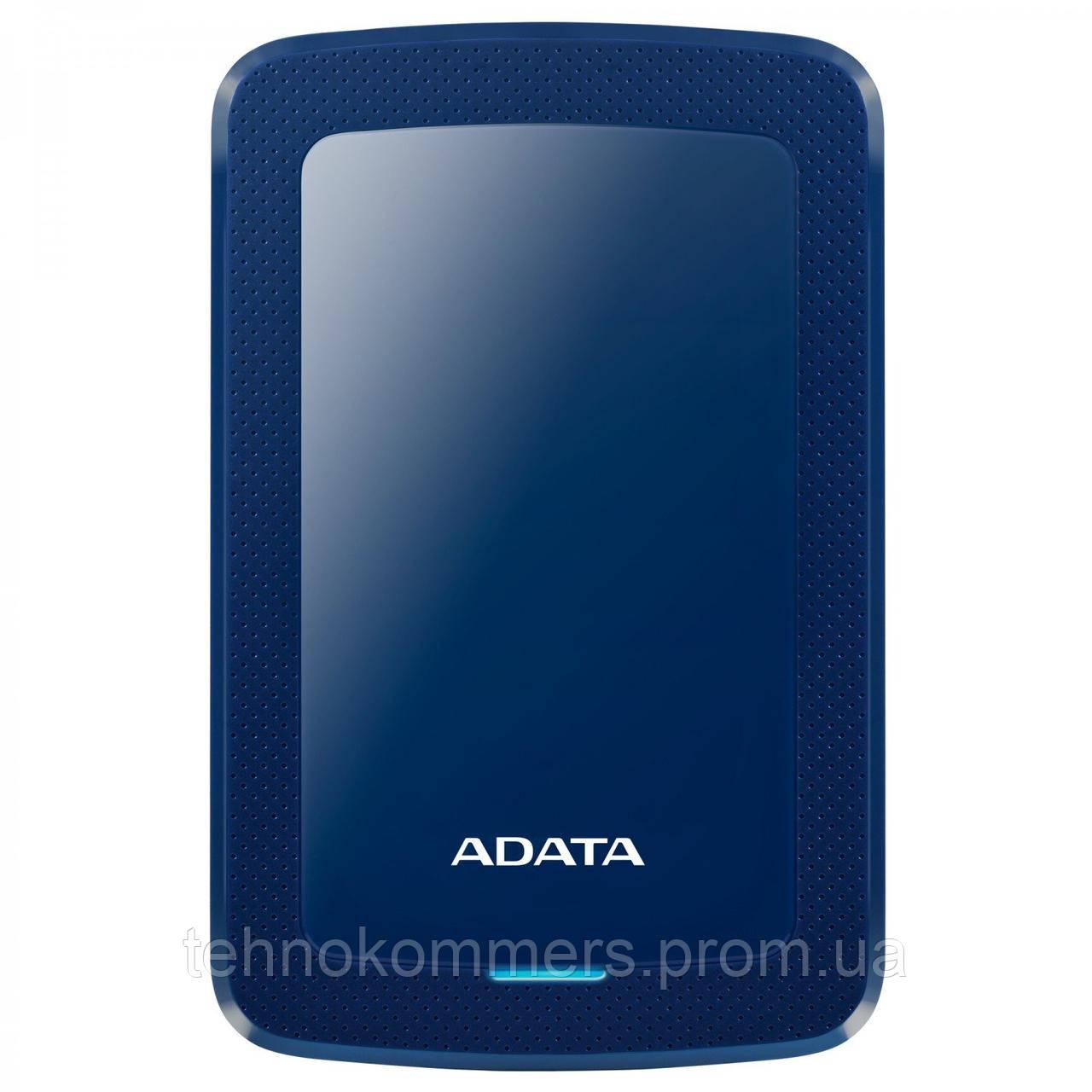 """Жорстку зовнішній диск A-DATA USB 3.2 Gen1 HV300 2TB 2,5"""" Синій"""