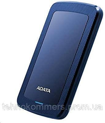 """Жорстку зовнішній диск A-DATA USB 3.2 Gen1 HV300 2TB 2,5"""" Синій, фото 2"""