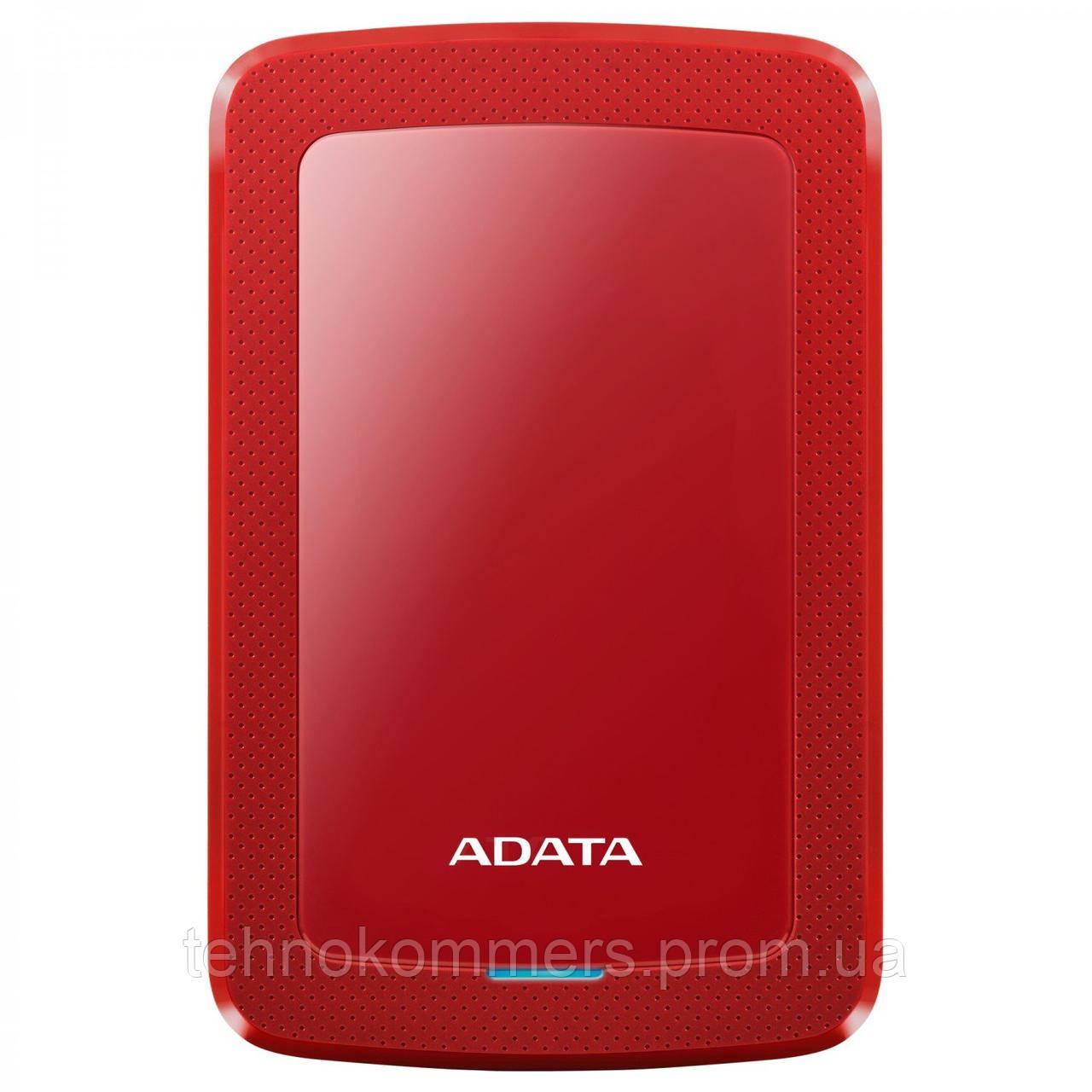 """Жорсткий диск зовнішній A-DATA USB 3.2 Gen1 HV300 2TB 2,5"""" Червоний"""
