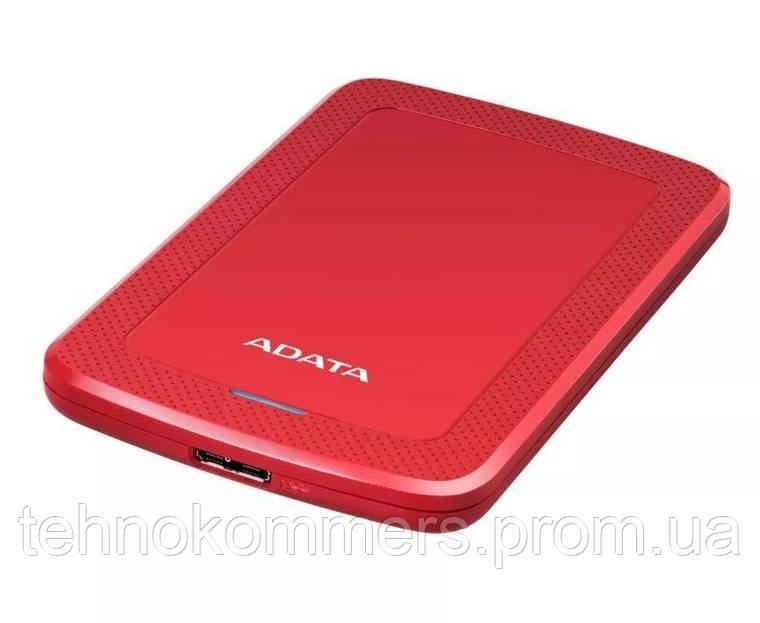 """Жорсткий диск зовнішній A-DATA USB 3.2 Gen1 HV300 2TB 2,5"""" Червоний, фото 2"""