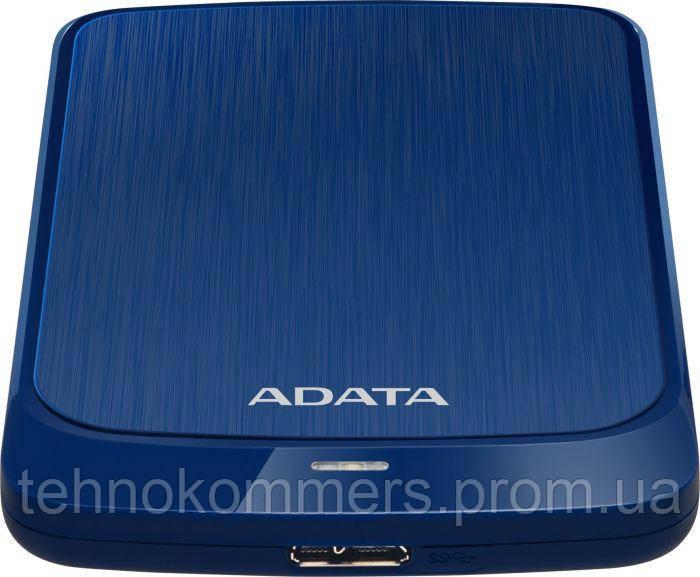 """Жорсткий диск зовнішній A-DATA USB 3.2 Gen1 HV320 2TB 2,5"""" Синій, фото 2"""