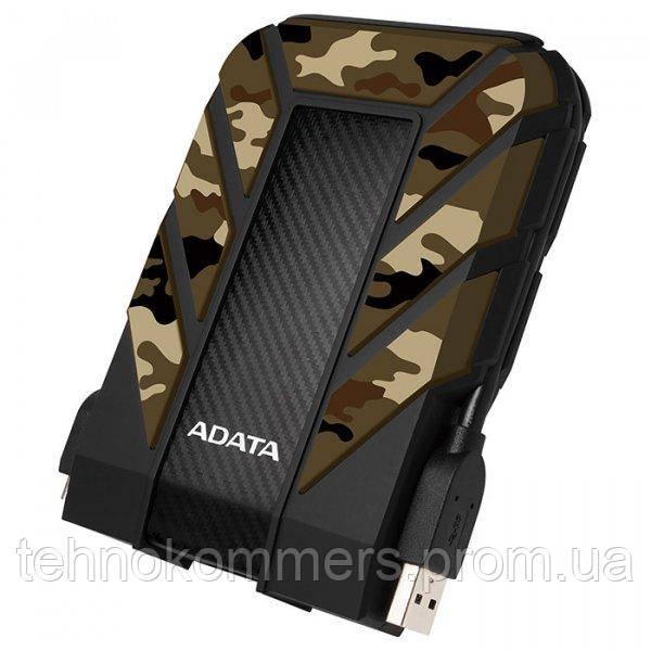 """Жорстку зовнішній диск A-DATA USB 3.2 Gen1 HD710M Pro 1TB 2,5"""" Камуфляж"""