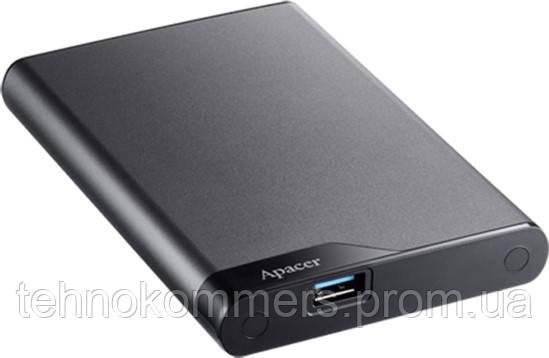"""Жорсткий диск зовнішній Apacer USB 3.1 Gen1 AC632 2TB 2,5"""" Темно-сірий"""