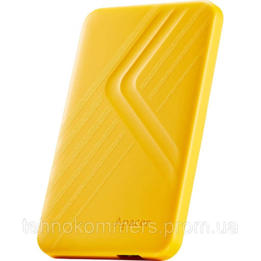 """Жорсткий диск зовнішній Apacer USB 3.2 Gen1 AC236 2TB 2,5"""" Жовтий"""