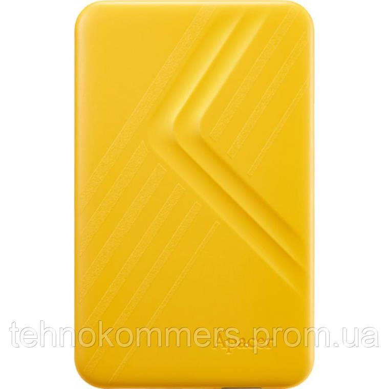 """Жорсткий диск зовнішній Apacer USB 3.2 Gen1 AC236 2TB 2,5"""" Жовтий, фото 2"""