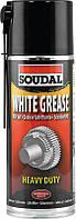 Смазывающий аэрозоль литиевый 400мл, белый, White Grease, Soudal [0000900000001000WG] Соудал