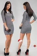 Красивое стильное платье с воротничком. Арт-3854/31.