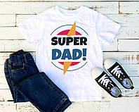 Мужская футболка Super DAD!, фото 1