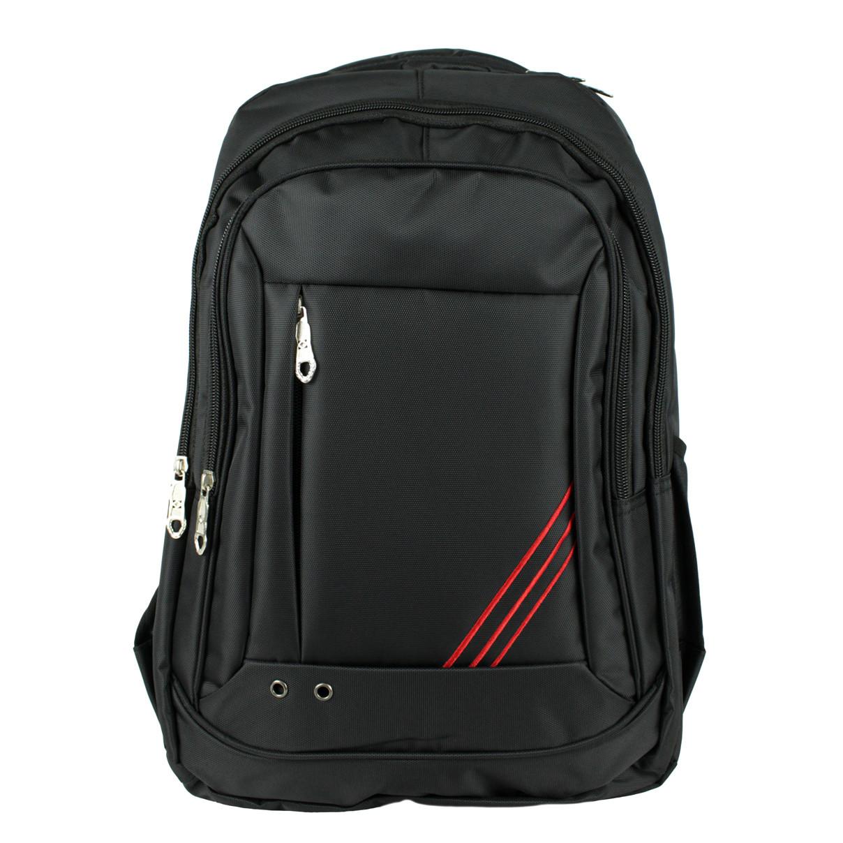 Рюкзак універсальний текстильний чорний