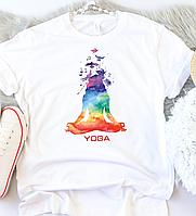 Женская футболка Yoga 2, фото 1
