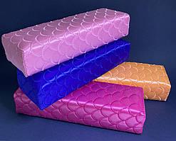 Підлокітник для манікюру текстильний кольори в асортименті