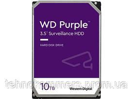 """Дисковий накопичувач внутрішній Western Digital Western Digital 3.5"""" Purple 10TB 3,5"""" SATAIII 7200 об/хв"""