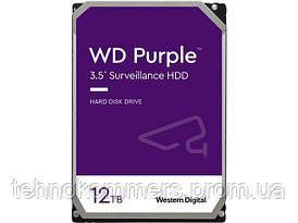 """Дисковий накопичувач внутрішній Western Digital Western Digital 3.5"""" Purple 12TB 3,5"""" SATAIII 7200 об/хв"""