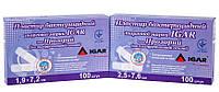 Пластырь бактерицидный ТМ IGAR Прозрачный (на полиуретановой основе) № 100