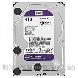 """Дисковий накопичувач внутрішній Western Digital Western Digital 3.5"""" Purple 4TB 3,5"""" SATAIII 5400 об/хв"""