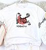 Жіноча футболка Yoga-cat