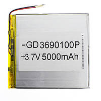 Аккумулятор для планшета 5000 mAh 3.6x90x100 мм