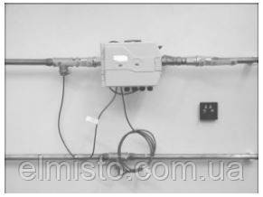 Пример установки счетчика тепла SENSUS PolluCom EX
