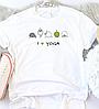 Жіноча футболка I ❤ yoga