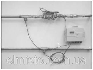 Пример установки счетчика тепла SENSUS PolluCom EX с выносом тепловычислителем